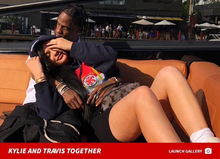 Kylie Jenner and Travis Scott Together