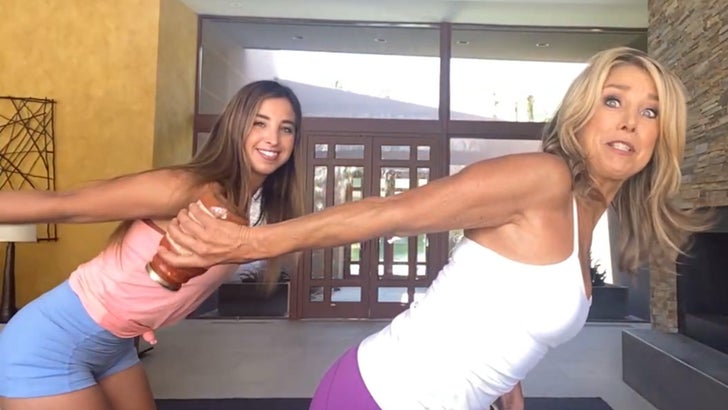 Denise Austin Says Richard Simmons Is Doing Well, Shares Home Workouts 3