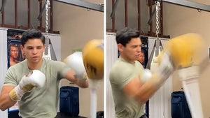 Boxing Star Ryan Garcia 'Making Steps Forward' In Mental Health Battle, Back in the Gym