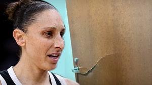 Diana Taurasi Reportedly Wrecks Locker Room Door After Losing WNBA Finals