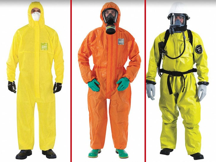 Feds Spent About 500k On Coveralls For Coronavirus Preparation
