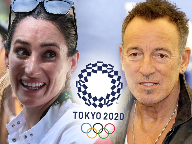 Jessica Springsteen makes her Olympics debut