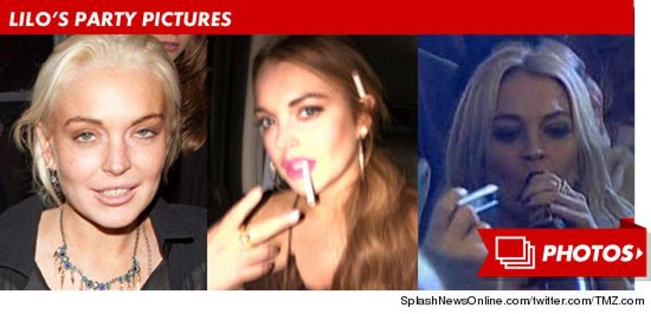 Lindsay Lohan -- Party Girl