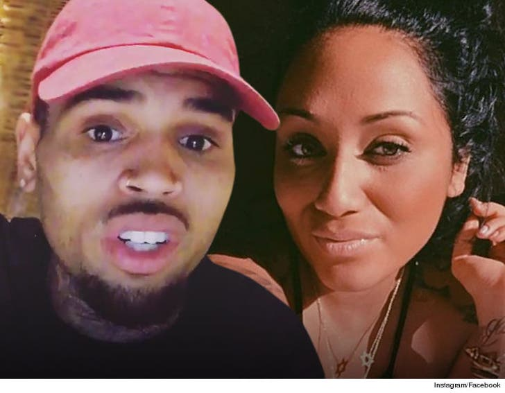 Chis Brown Destroys Baby Mama in Custody Court