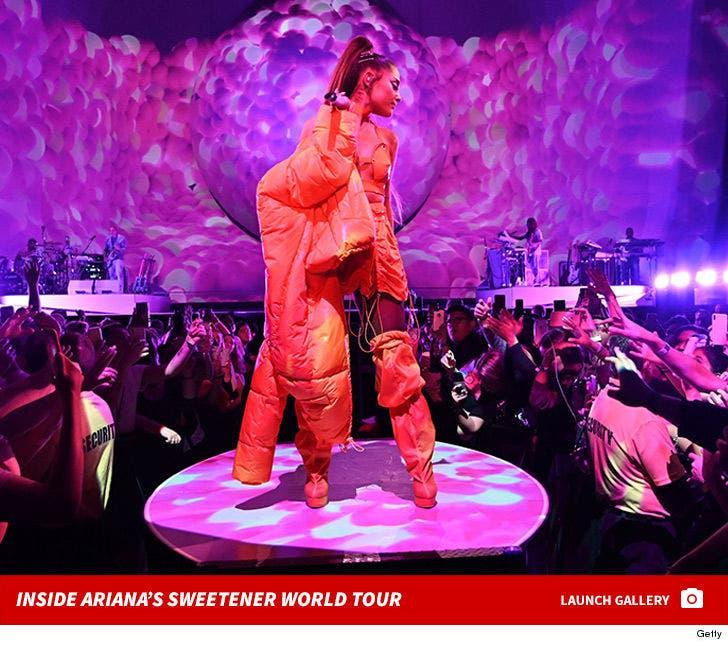 Inside Ariana Grande's Sweetener World Tour