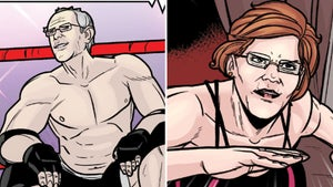 Bernie Sanders Wrestles Beto, Warren, Bush in New Comic Book