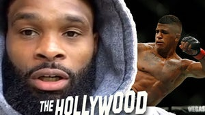UFC's Tyron Woodley on Gilbert Burns, 'I'm in a Violent Headspace'