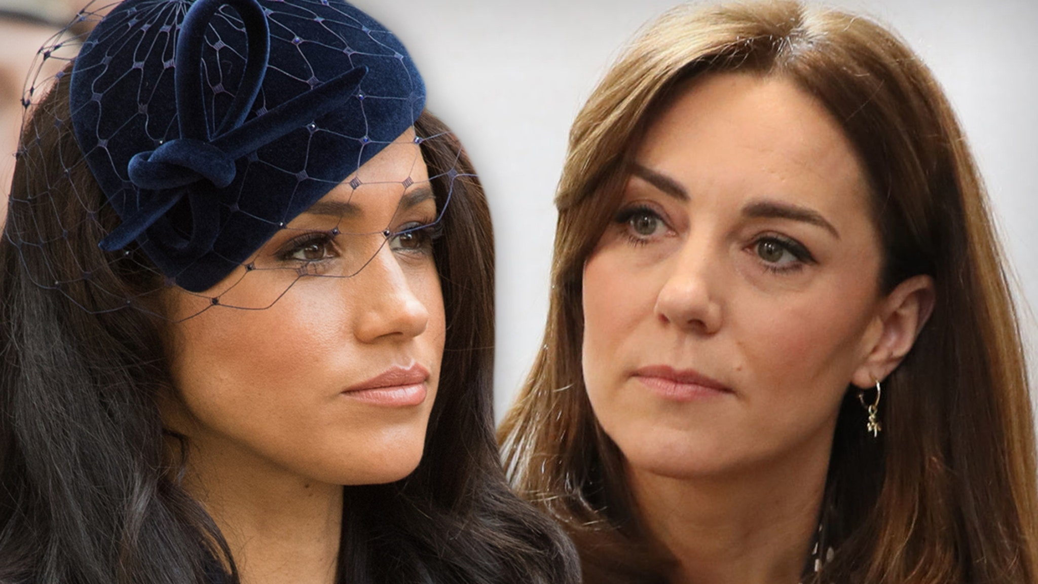 Meghan Markle Reportedly Kind to Kate ... In Oprah Interview