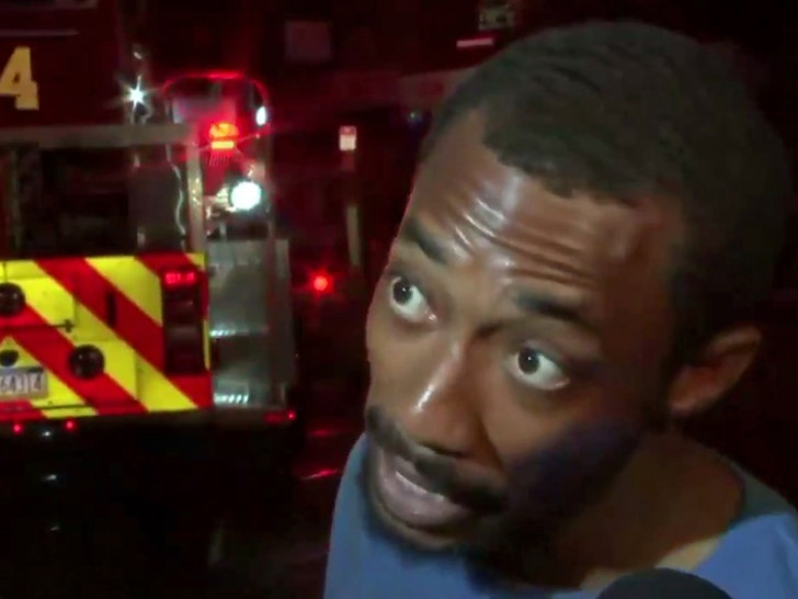 Philly Hero Rips Eagles Receiver After Saving Kids from Fire