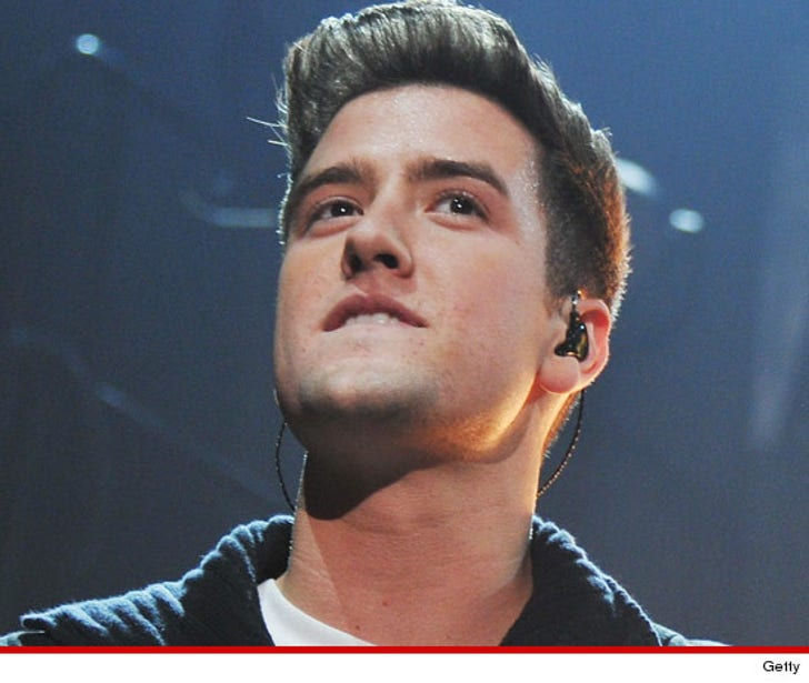 'Big Time Rush' Star Logan Henderson -- I Crashed My ...
