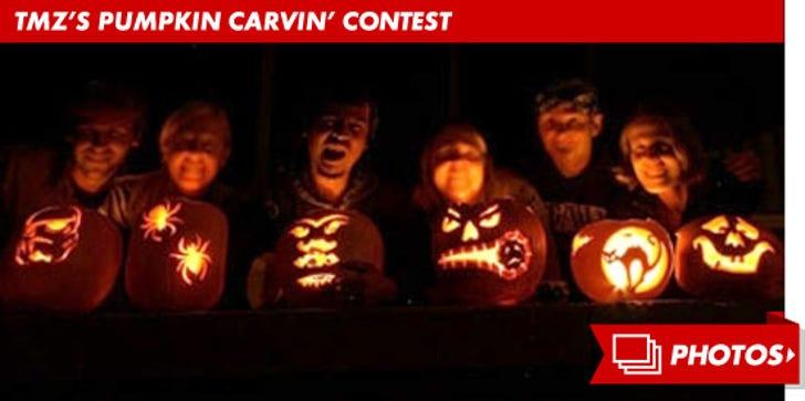 TMZ's Pumpkin Carving Contest