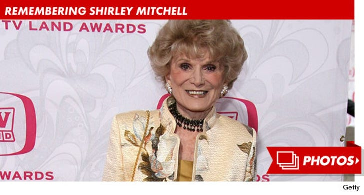 Remembering Shirley Mitchell