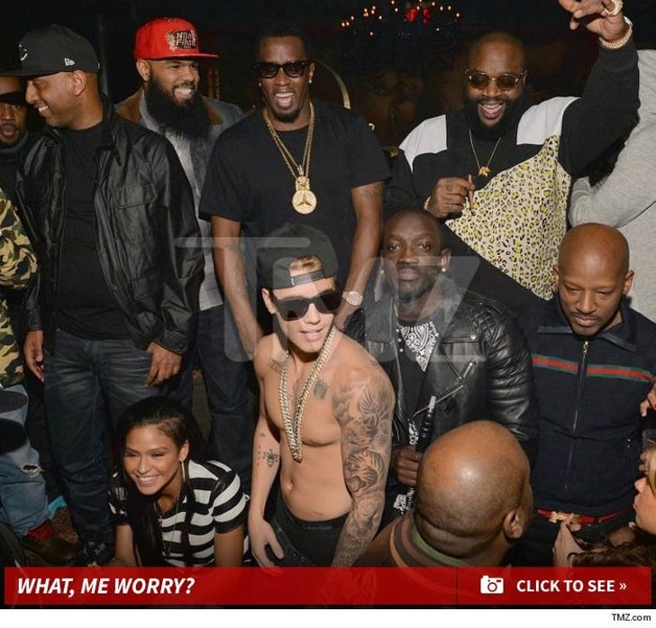 Justin Bieber Partying in Atlanta
