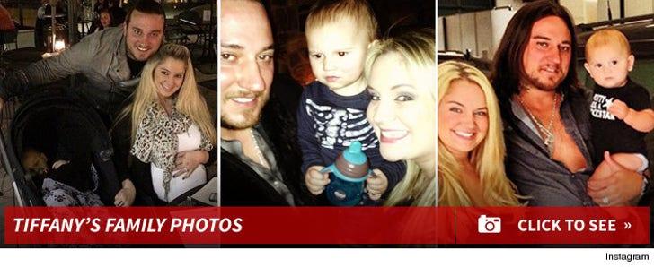 Tiffany Thornton's Family Photos