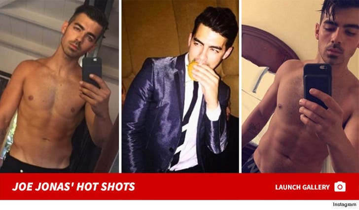 Joe Jonas' Hot Shots