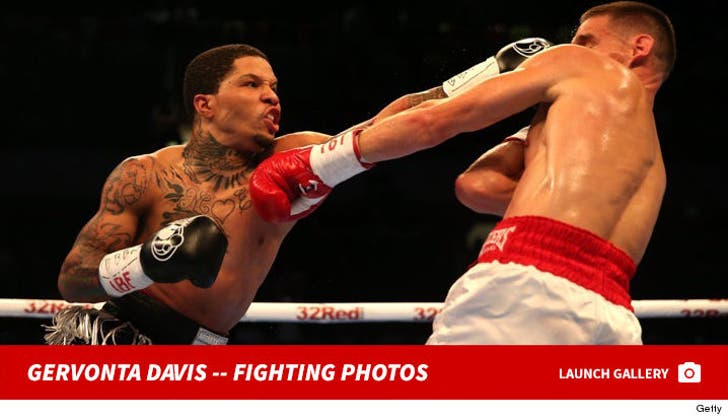 Gervonta Davis -- Fighting Photos