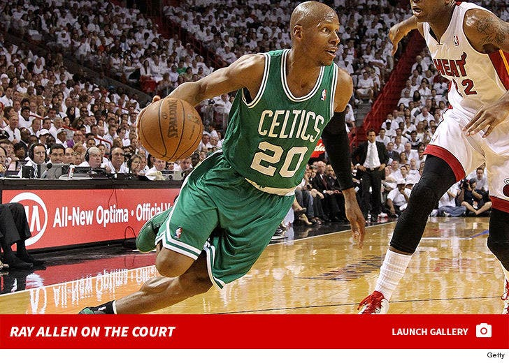 Ray Allen -- On the Court