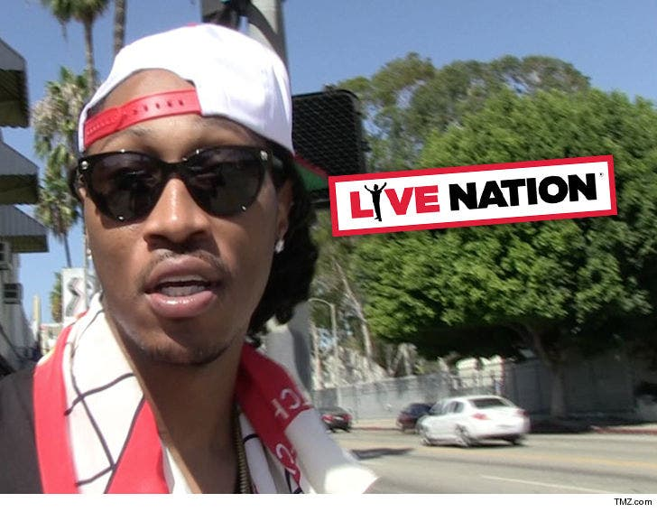 Live Nation Sued By Fans Allegedly Injured At Future