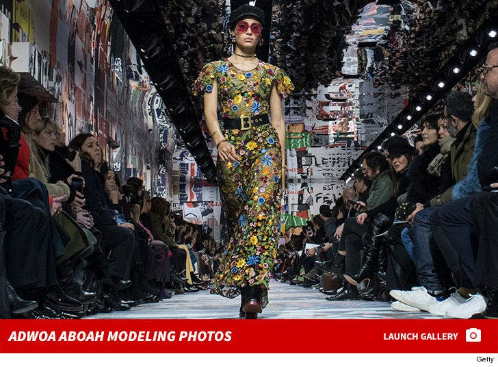 Adwoa Aboah Modeling Photos