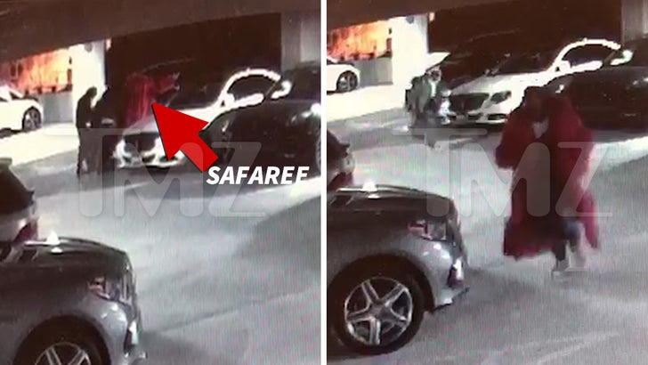 Safaree Samuels Robbed at Gunpoint Caught on Security Video