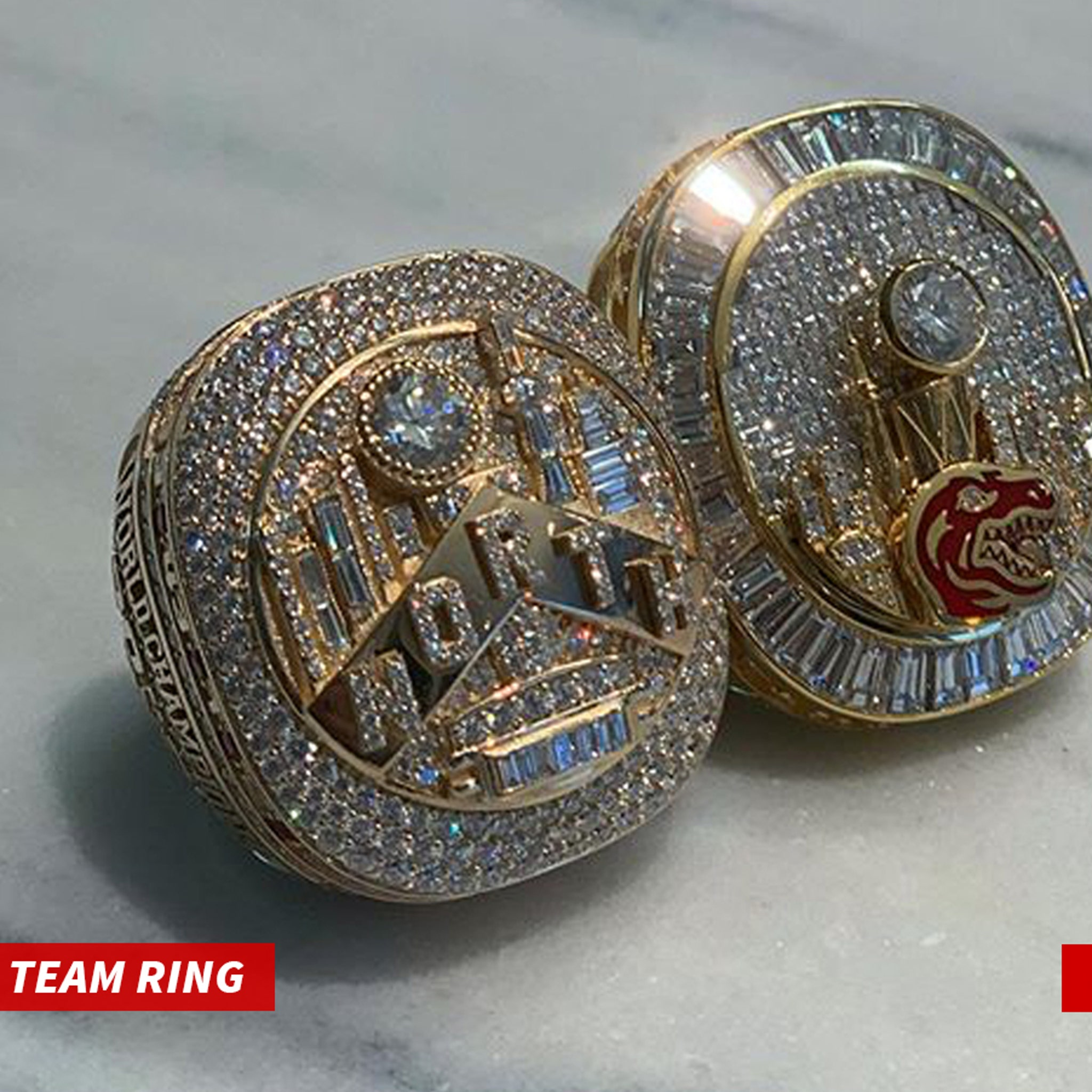 Drake Receives Raptors Championship Ring Gets 2nd Custom Ring For Himself