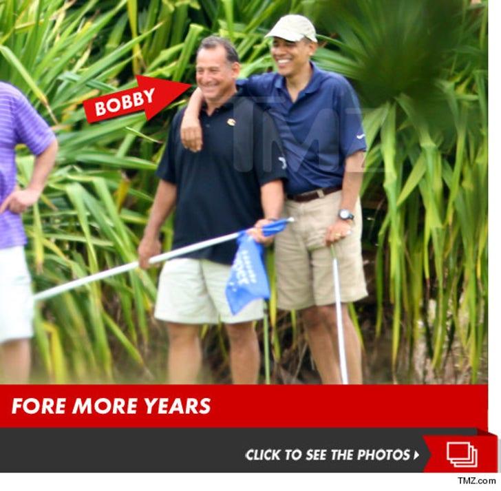 President Barack Obama -- Golf with Alleged Prostitution Solicitor