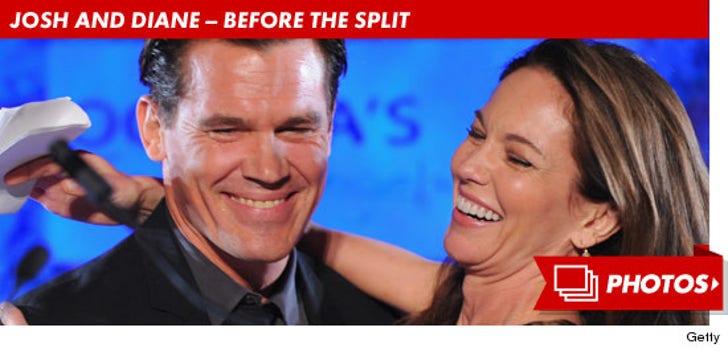 Josh Brolin and Diane Lane -- Before the Split