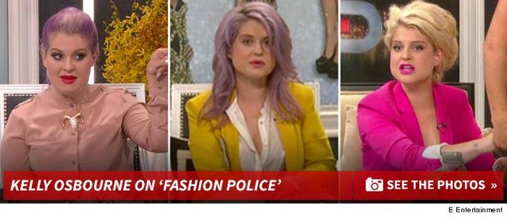 Kelly Osbourne on 'Fashion Police'