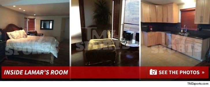 Inside Lamar Odom's Vegas Room