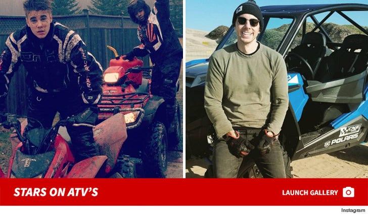 Off-Road Daredevils -- Stars on ATVs