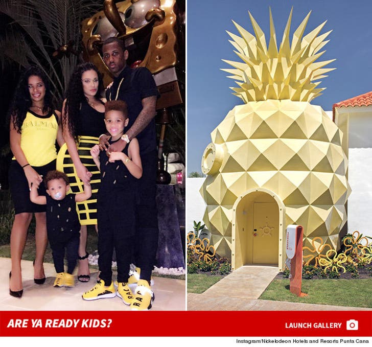 Fabolous' Digs in a Pineapple Under the Sea For $4k a Night