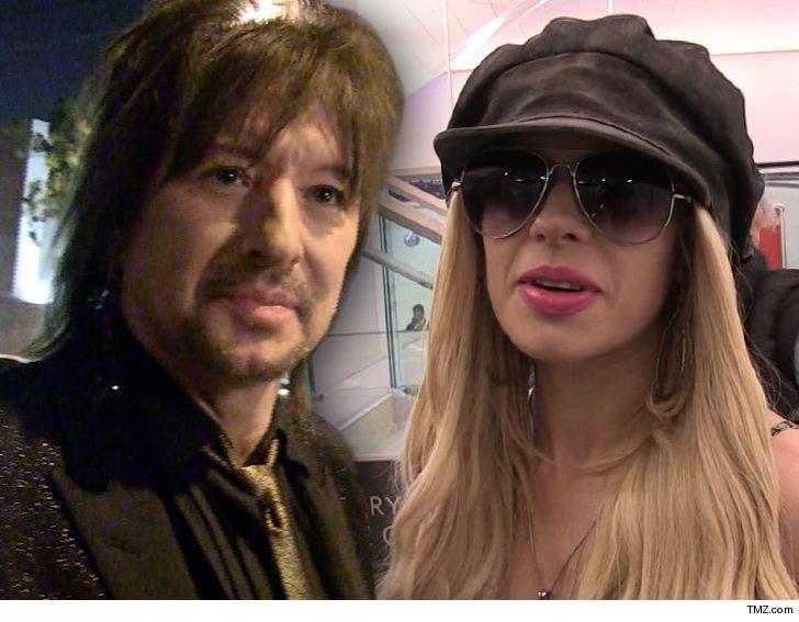 Bon Jovi's Richie Sambora and Girlfriend Orianthi Taking a