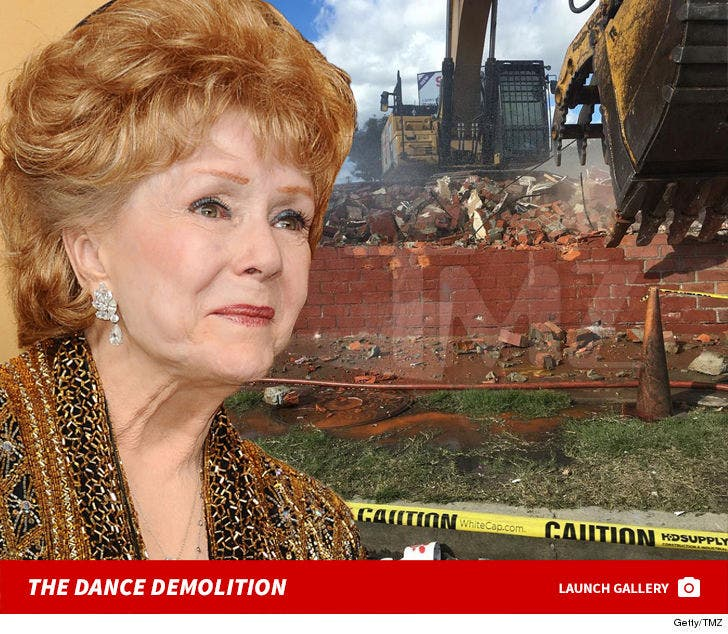 Debbie Reynolds' Dance Studio Destruction