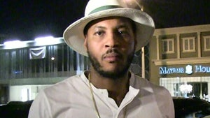 Carmelo Anthony 'Still Up In The Air' on Finishing NBA Season in Orlando