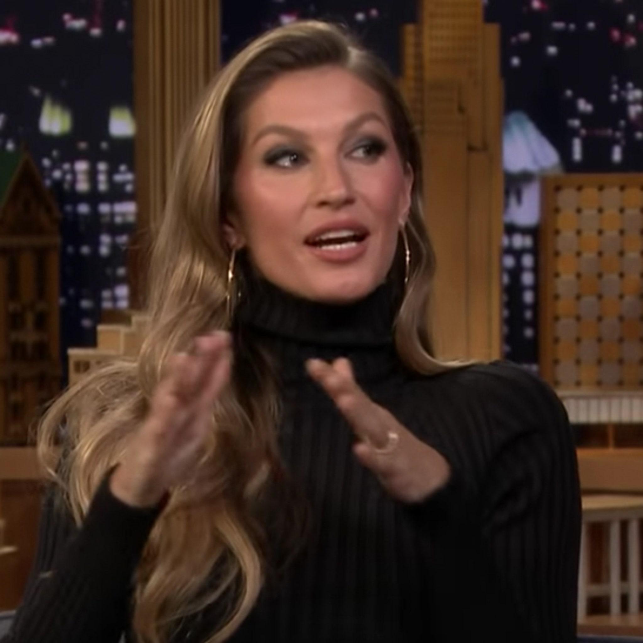 Gisele Explains Terrifying Dodgeball Games With Tom Brady's Fam, 'I