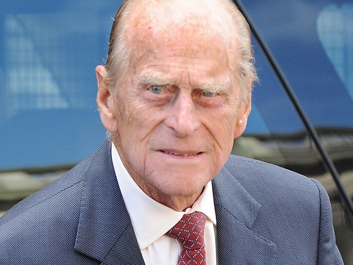 Prince Philips Cause of Death Listed as Old Age - TMZ