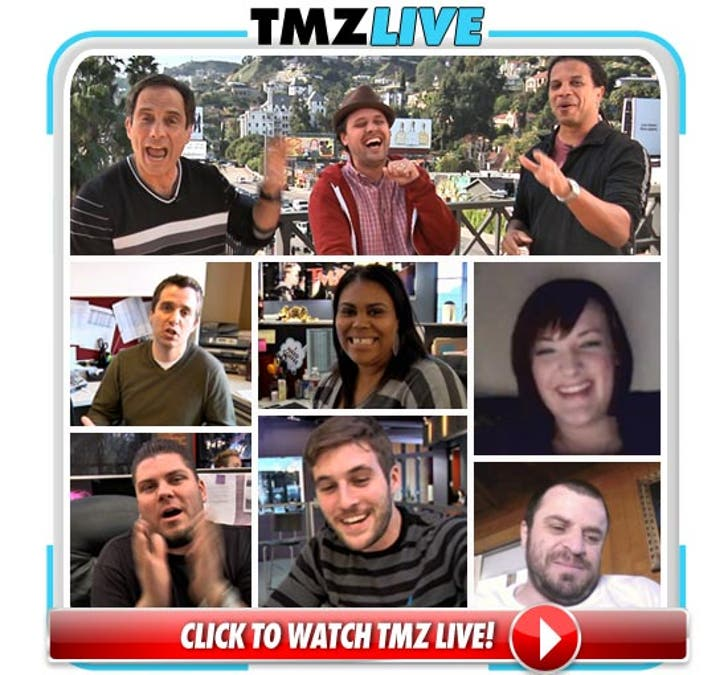 TMZ Live -- Everybody Joins In!!
