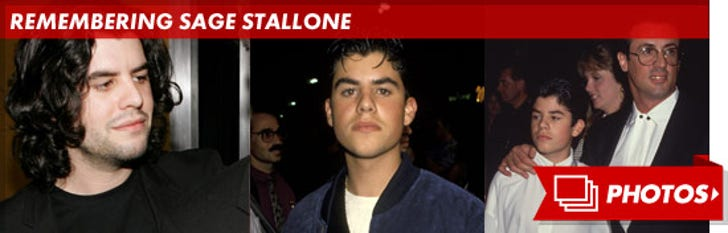 Remembering Sage Stallone