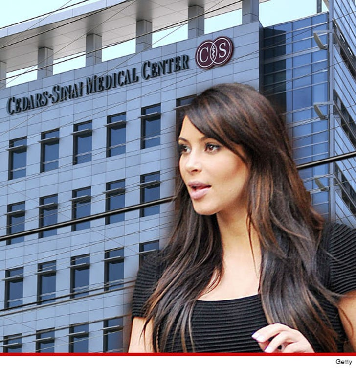Kim Kardashian -- I Was a Victim of Hospital Snooping