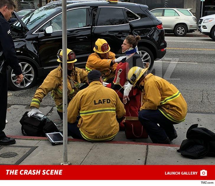 Lainie Kazan -- The Crash Scene