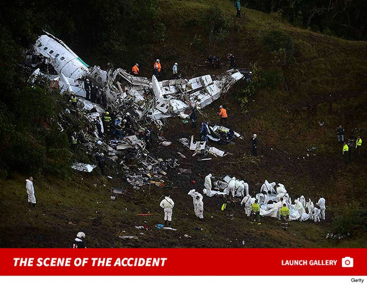 Brazilian Soccer Team -- The Plane Crash in Colombia