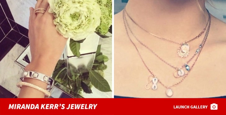 Miranda Kerr's Jewelry