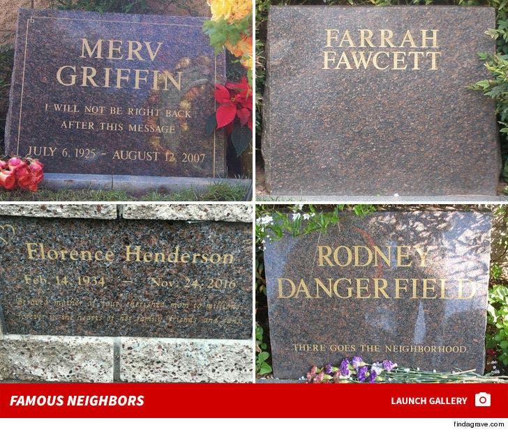 Westwood Memorial Park Cemetery -- Celebrity Graves