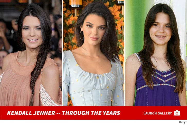 Kendall Jenner -- Through The Years