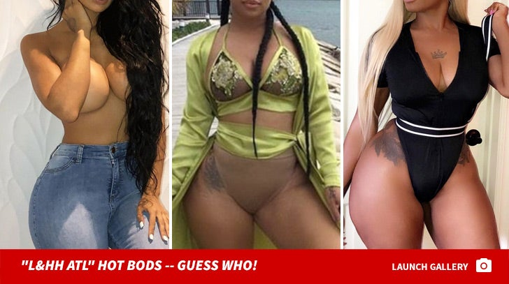 'Love & Hip Hop: Atlanta' Hot Bods -- Guess Who!