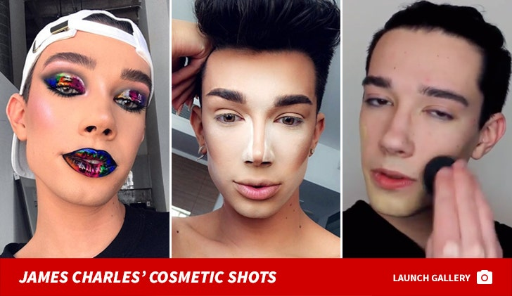James Charles' Cosmetic Shots