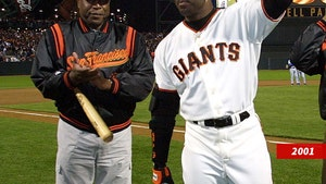 Barry Bonds 'Crying' Over Death of Willie McCovey