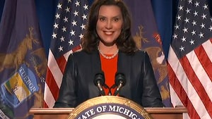 Michigan Gov. Whitmer's Hot Mic Moment is Best Shark Week Promo Ever