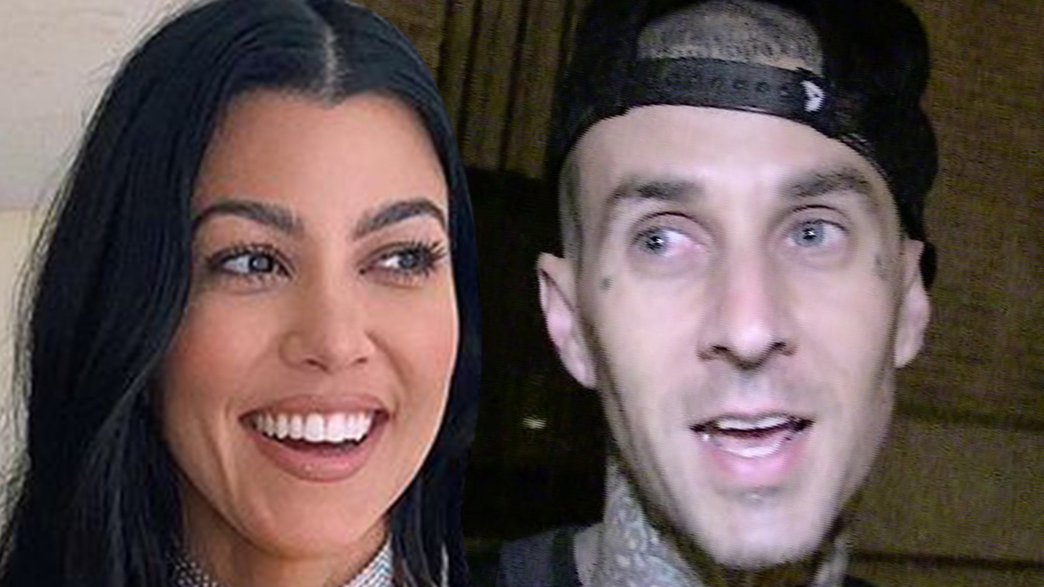 Travis Barker Suggests Kourtney Kardashian Is a Biter thumbnail