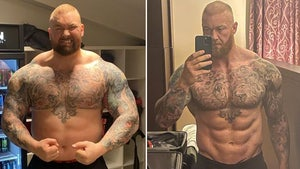 'The Mountain' Shows Off Insane Body Transformation Ahead Of Boxing Match